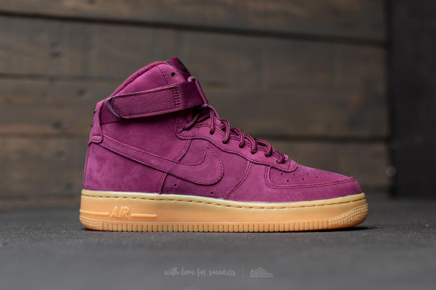 nike air force 1 07 bordeaux