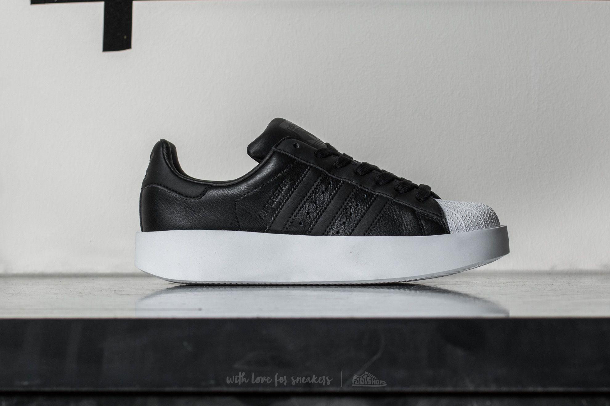 Lyst - adidas Originals Adidas Superstar Bold W Core Black  Core ... 69df2f77a0b47