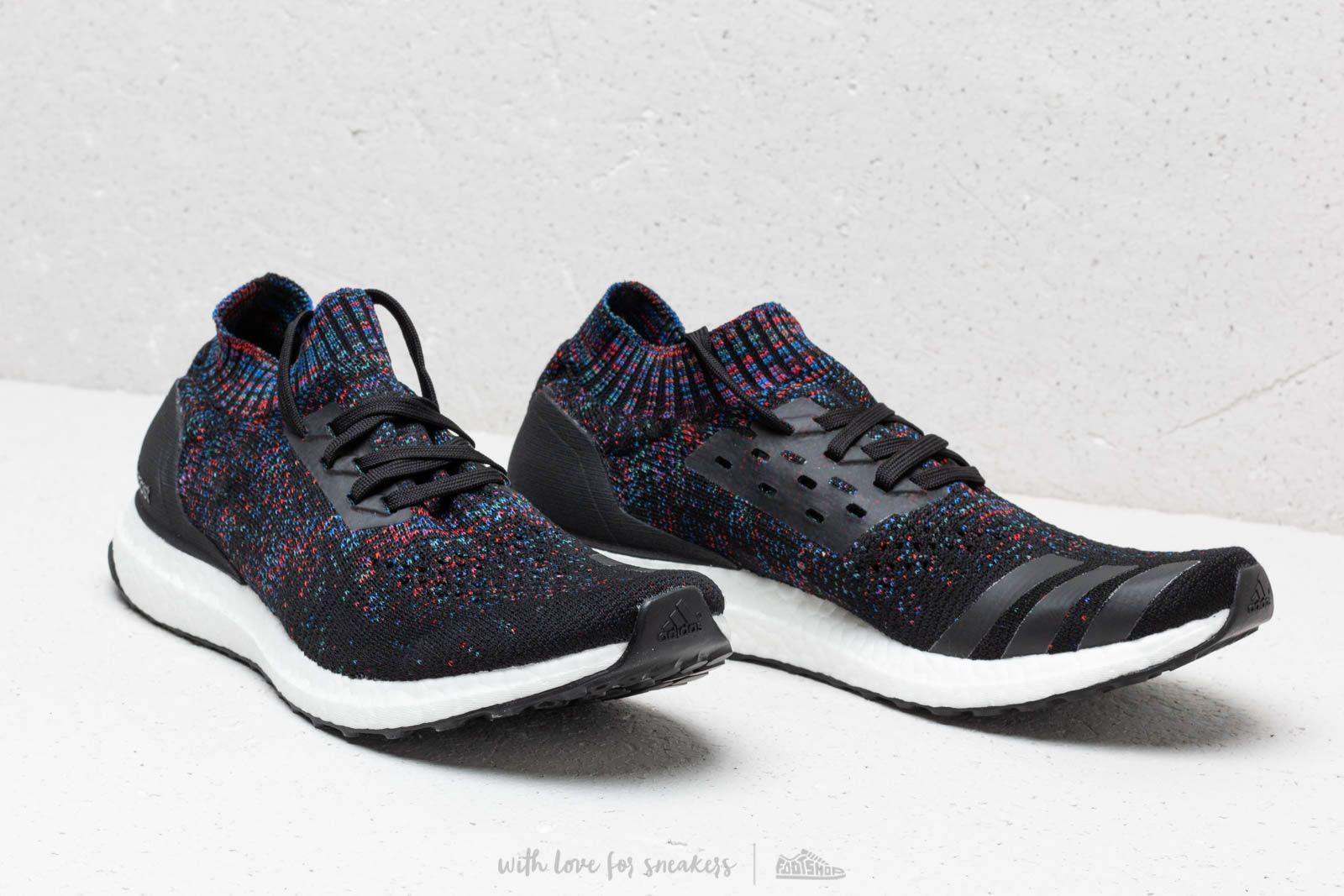 new product f1dc4 5960d Adidas Originals - Adidas Ultraboost Uncaged Core Black Active Red Blue  for Men -. View fullscreen