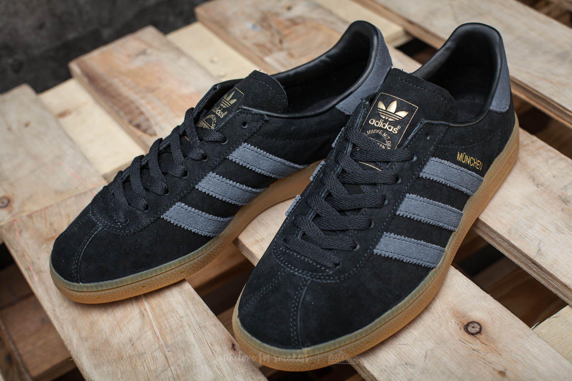 quality design 06830 c8fc8 Lyst - adidas Originals Adidas Munchen Core Black Dark Grey