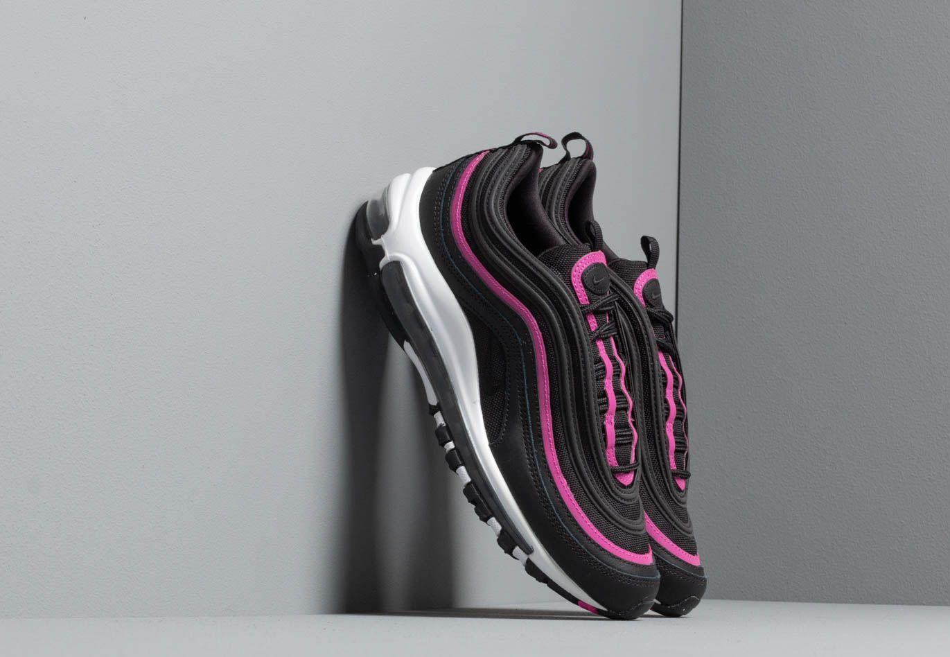 8e801db262e7 Lyst - Nike W Air Max 97 Lx Black  Black-active Fuchsia in Black
