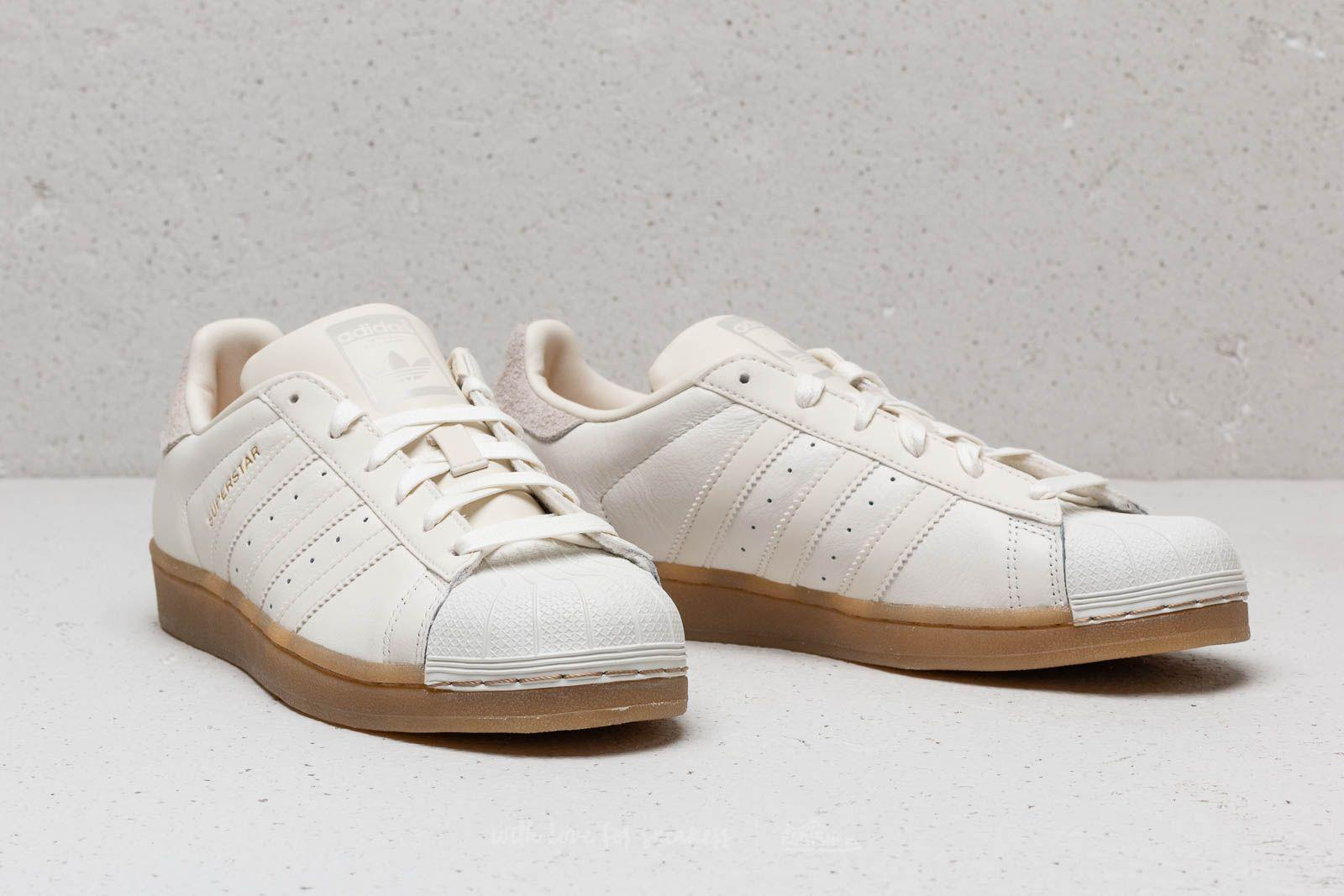 Lyst - adidas Originals Adidas Superstar W Cloud White  Cloud White ... 937f53bc0654d
