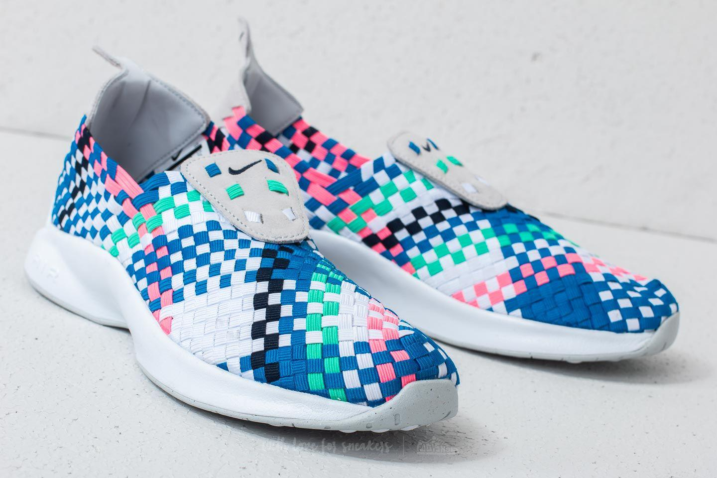 e965ac79dc3b Lyst - Nike Air Woven Pure Platinum  Obsidian-white in Blue for Men