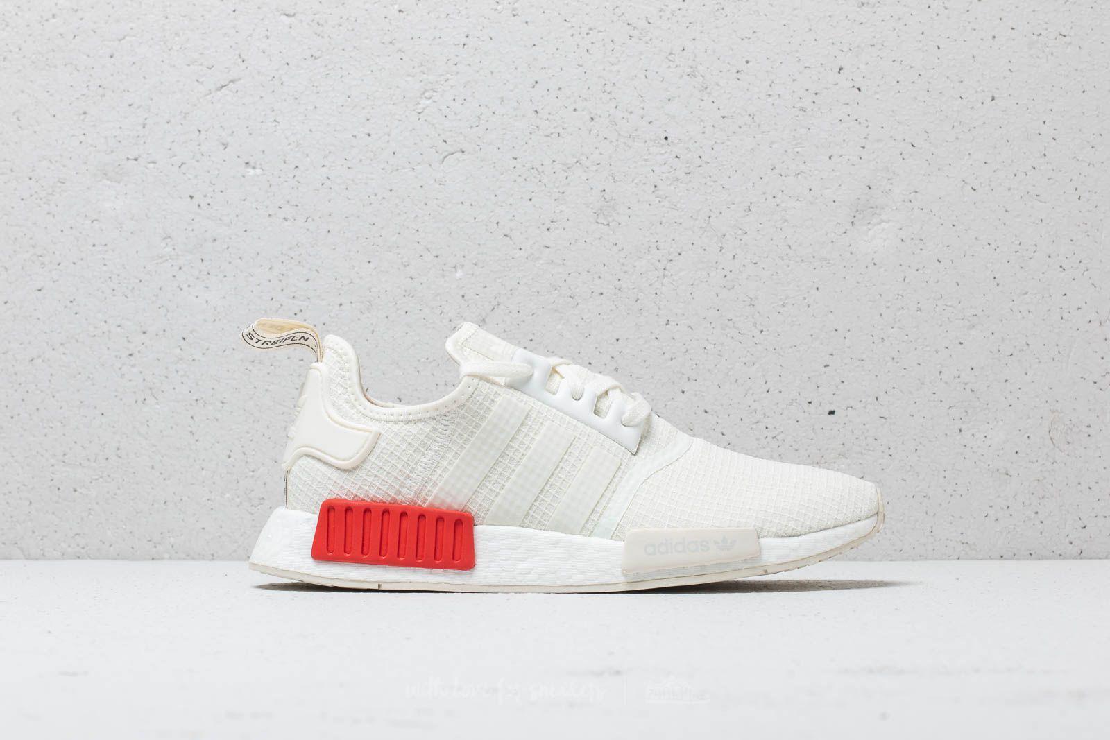 more photos a2a11 d1674 Adidas Originals Adidas Nmd_r1 Off White/ Off White/ Lush Red for men