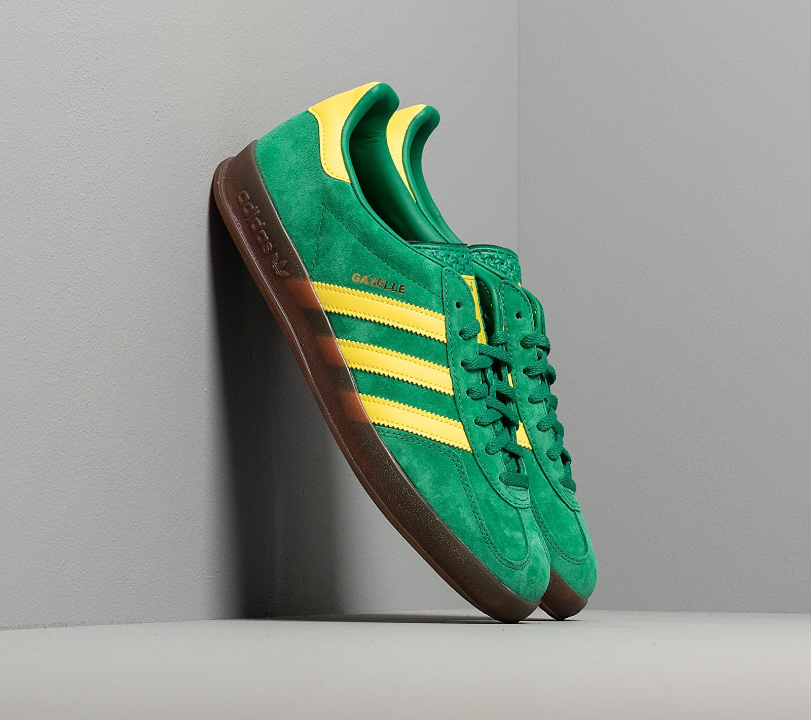 Adidas Gazelle Indoor Bright Green/ Beta Yellow/ Gum5