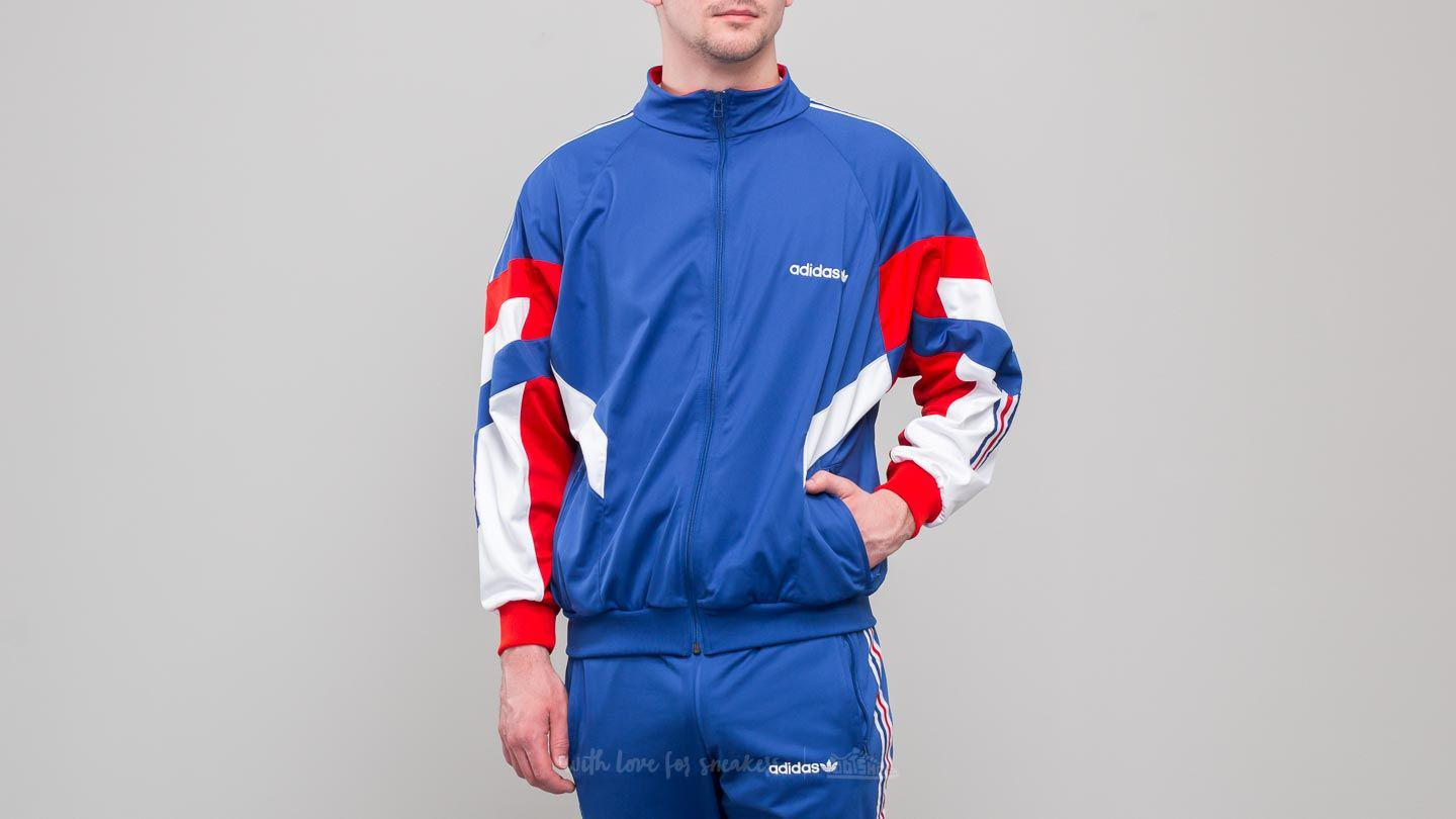 d8b496afd21b Lyst - adidas Originals Adidas Aloxe Track Top Bold Blue  White in ...