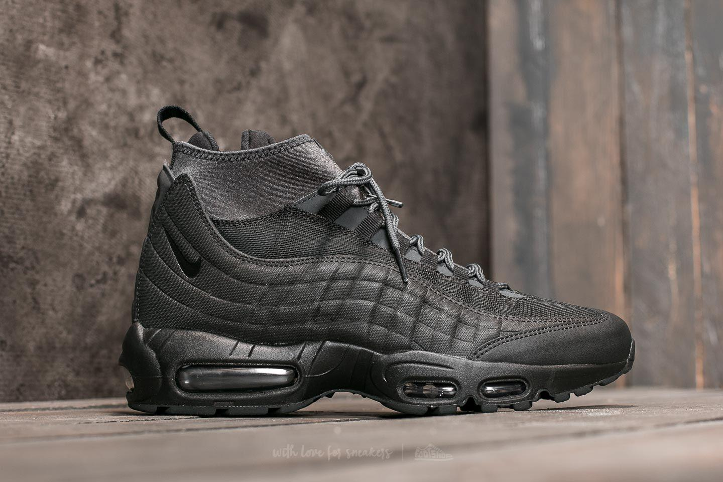 435bbf9f95c7 Nike - Air Max 95 Sneakerboot Black  Black-anthracite-white for Men -. View  fullscreen