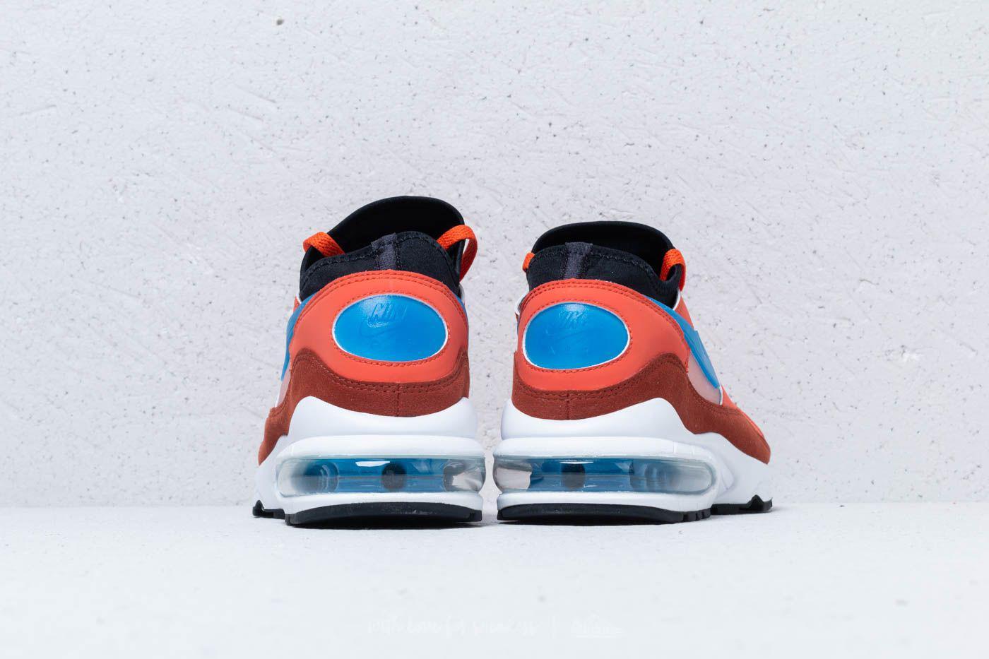 cruzar Clasificar Penetrar  Nike Leather Air Max 93 Vintage Coral/ Blue Nebula for Men - Lyst