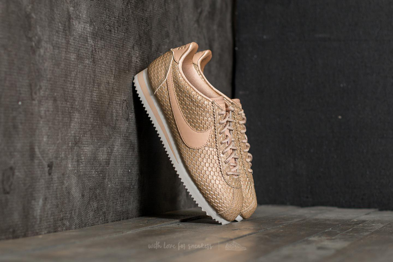 d6f7100584c Lyst - Nike Wmns Classic Cortez Se Blur  Bio Beige-light Orewood ...