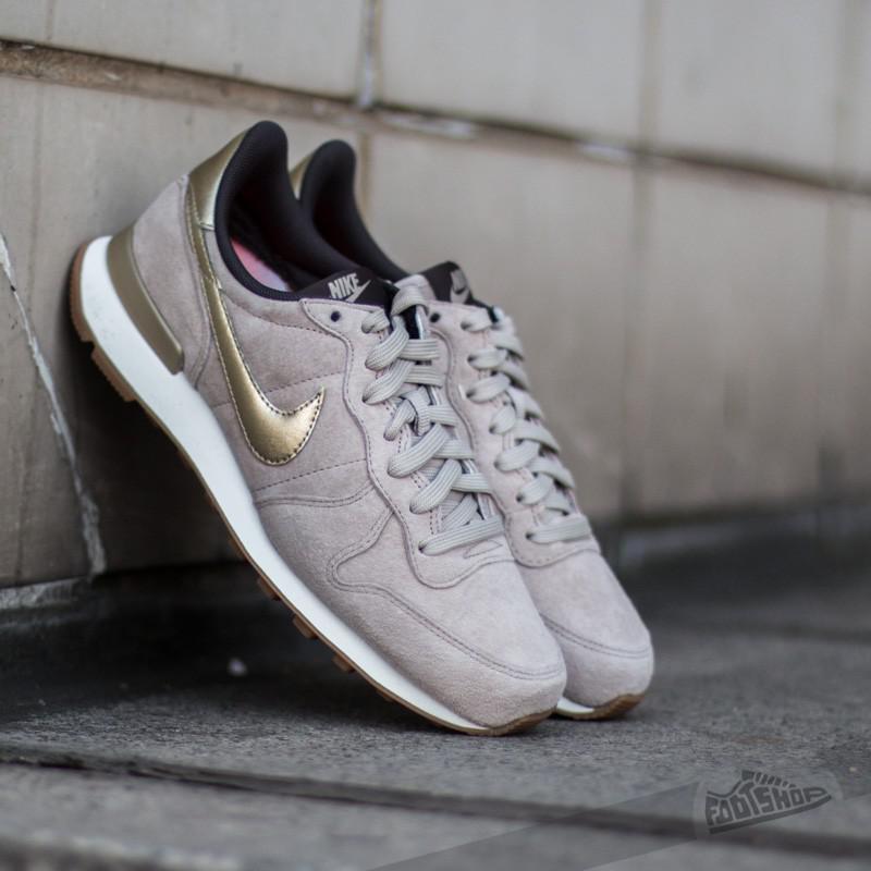online retailer fcfac 28119 Nike W Internationalist Premium Suede String/metallic Gold Grain ...
