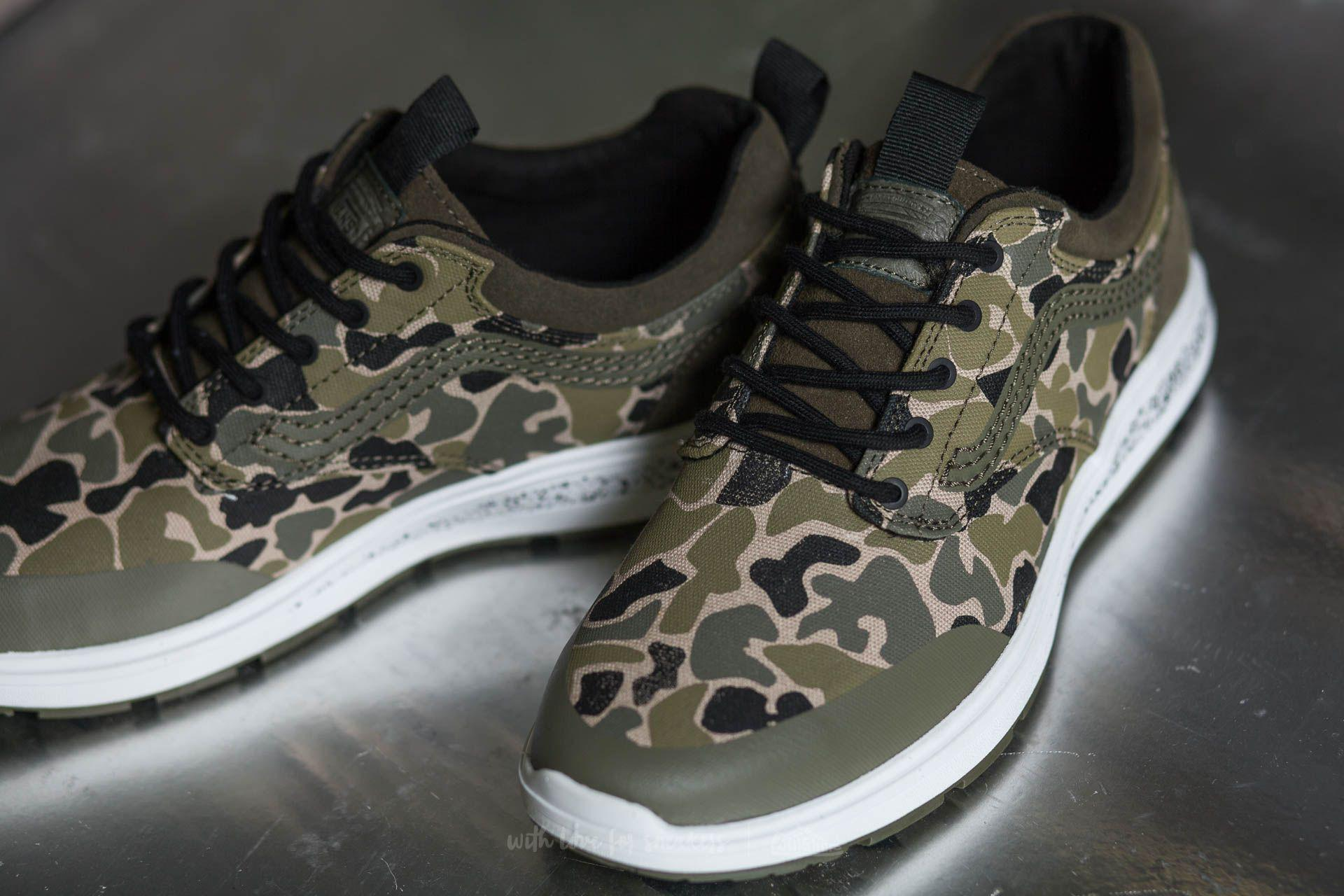 3c0f4adffee15a Lyst - Vans Iso 3 (camo) Camo  Ivy Green in Green for Men