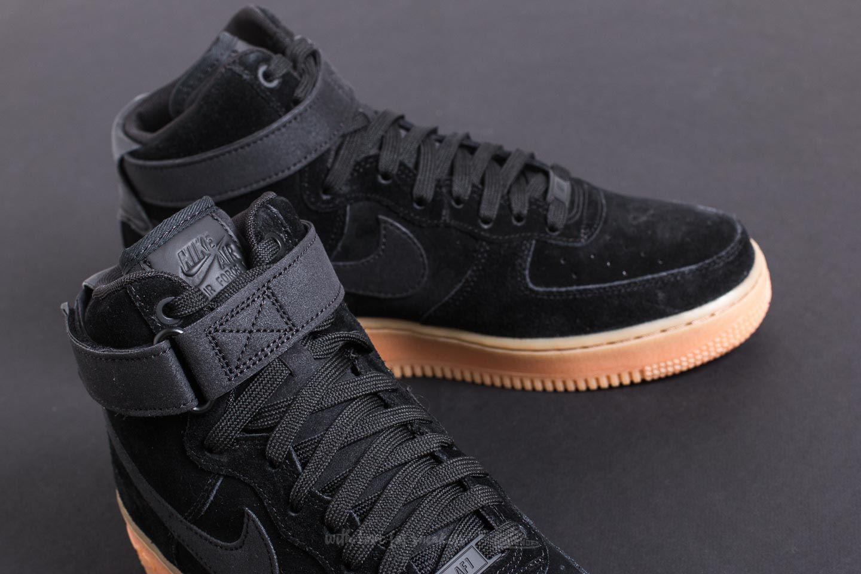 Nike Air Force 1 High 07 Lv8 Suede Black Black Gum Med Brown For Men Lyst