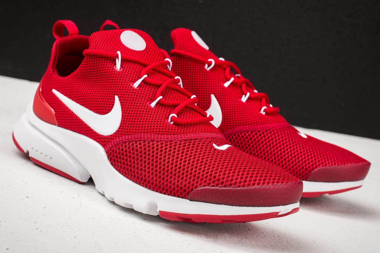 Nike Rubber Presto Fly Gym Red/ White