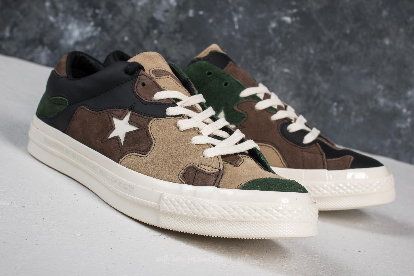 ca437e50a5c6 Lyst - Converse X Sneakersnstuff One Star Ox Canteen  Black Forest ...