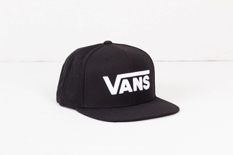 Lyst - Vans Drop V Ii Snapback Black-white in Black for Men dd01e1386