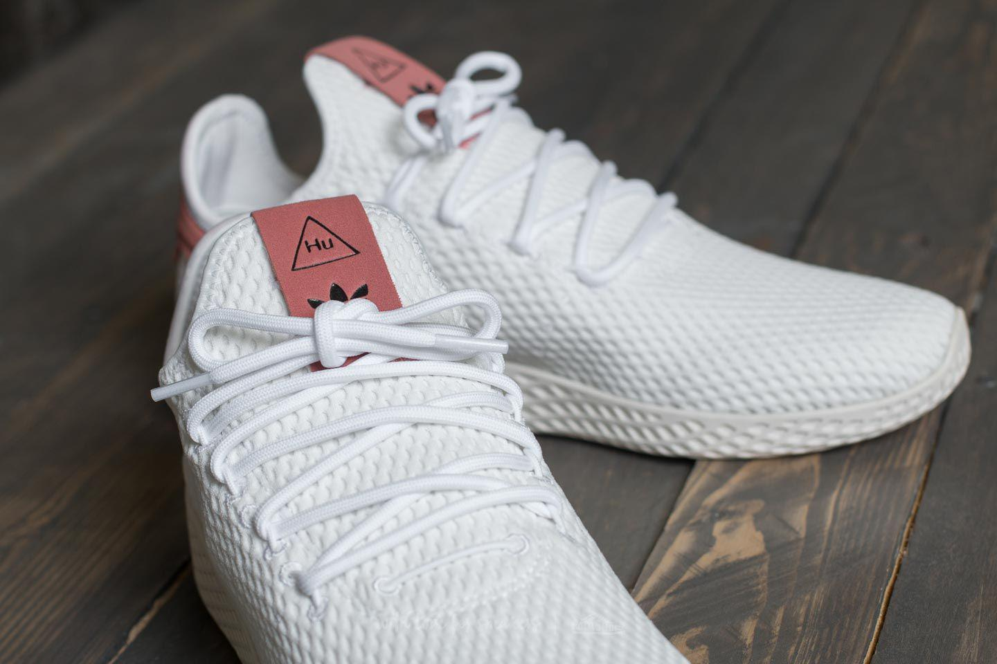 best deals on on sale classic shoes Adidas Pharrell Williams Pw Tennis Hu Ftw White/ Ftw White/ Raw Pink