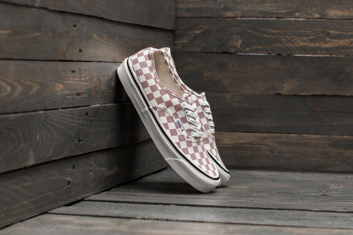 347981c78a2784 Lyst - Vans Authentic 44 Dx (anaheim Factory) Mauve  Check for Men