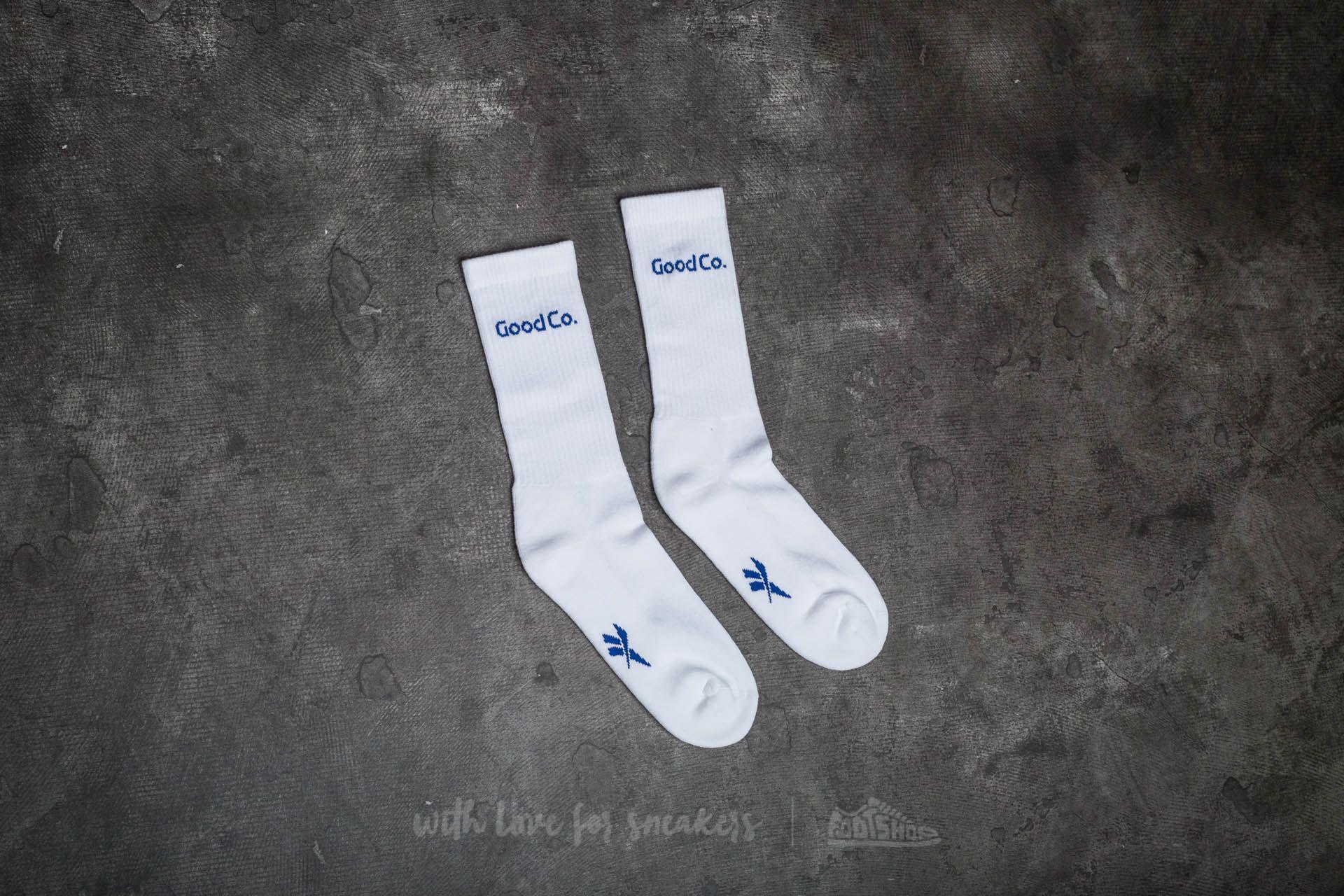 Lyst - Reebok X The Good Company Crew Socks White in White for Men b217a2d52