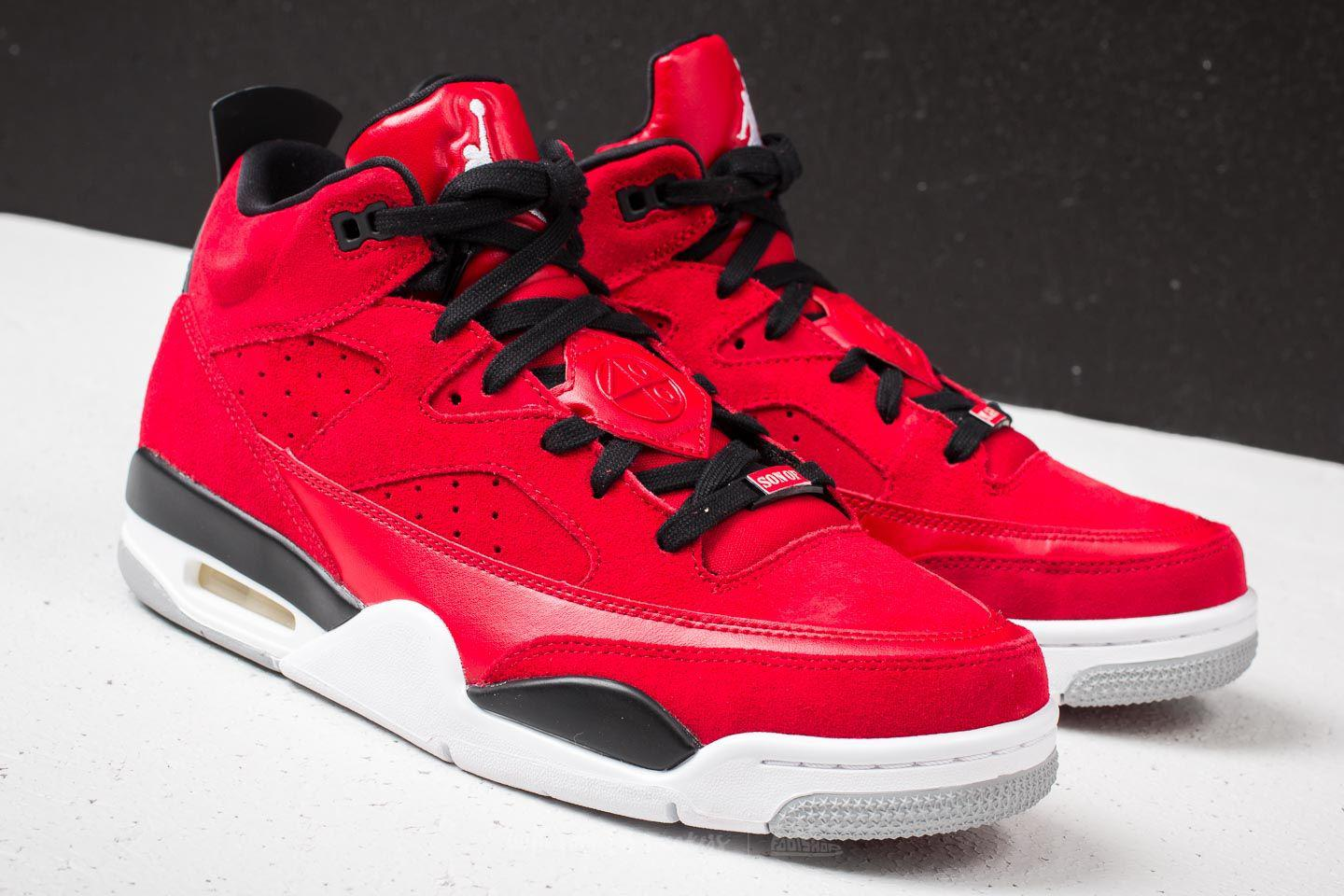 pretty nice e8b88 1b5f0 Lyst - Nike Son Of Low Gym Red  White-black-wolf Grey in Red for Men