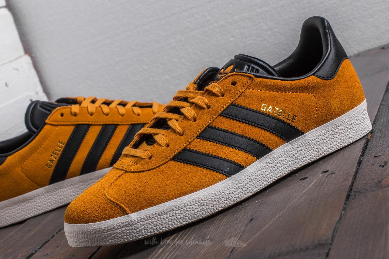 Adidas Gazelle Tactile Yellow/ Core Black/ Gold Metalic