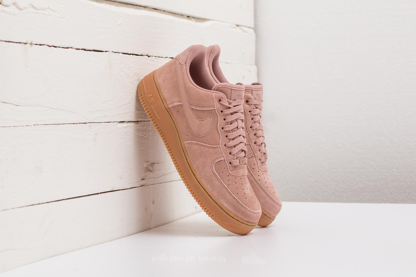 97419f0d52097b Lyst - Nike Air Force 1 ́07 Lv8 Suede Particle Pink  Particle Pink ...