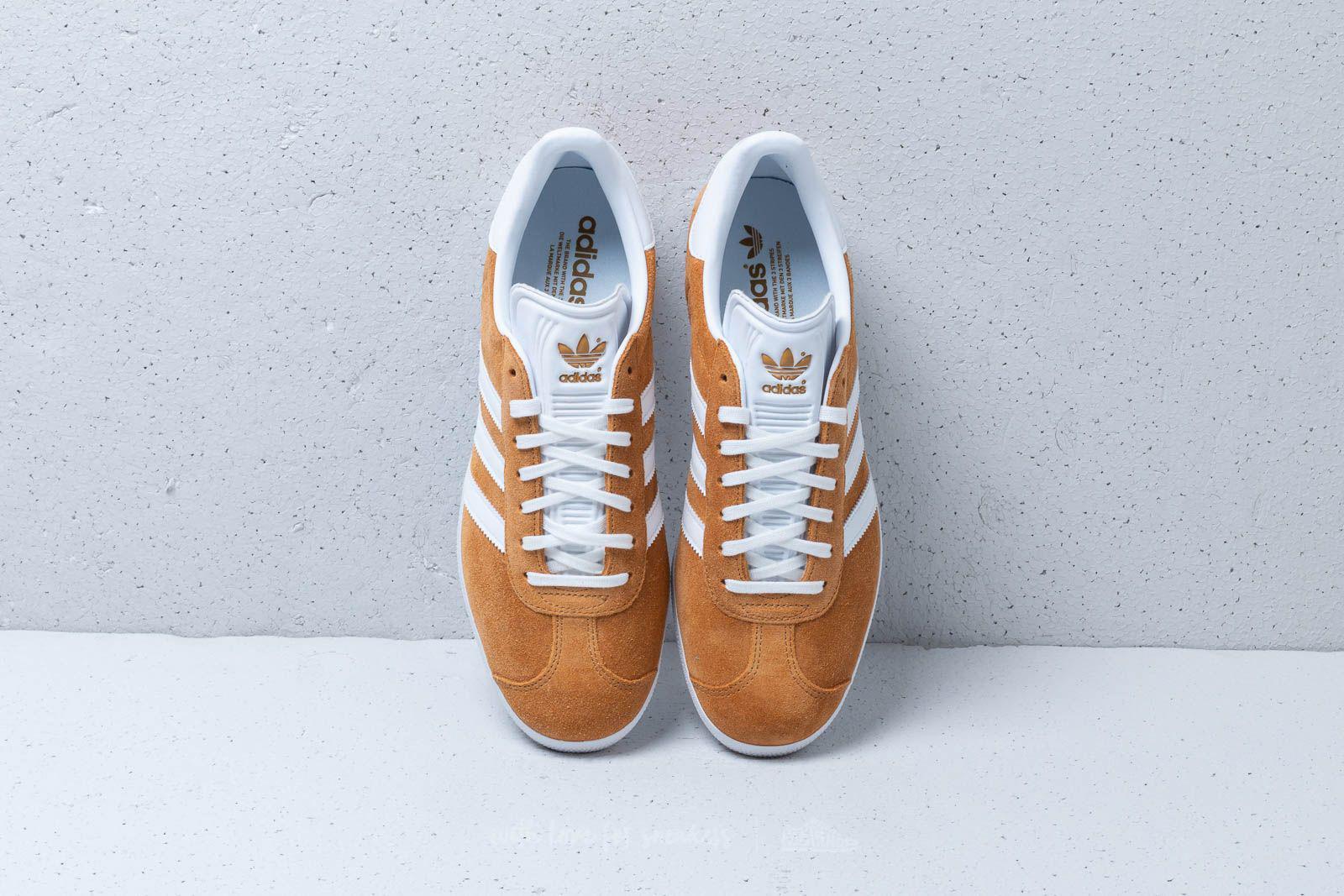 adidas Adidas Gazelle Mesa/ Ftw White/ Ftw White - Lyst