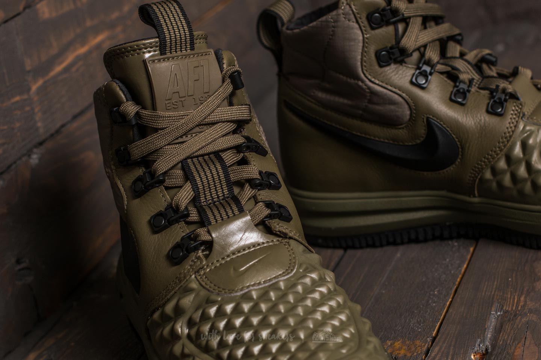 sports shoes 702ee a6ec5 Lyst - Nike Lunar Force 1 Duckboot  17 (gs) Medium Olive  Black-wolf ...