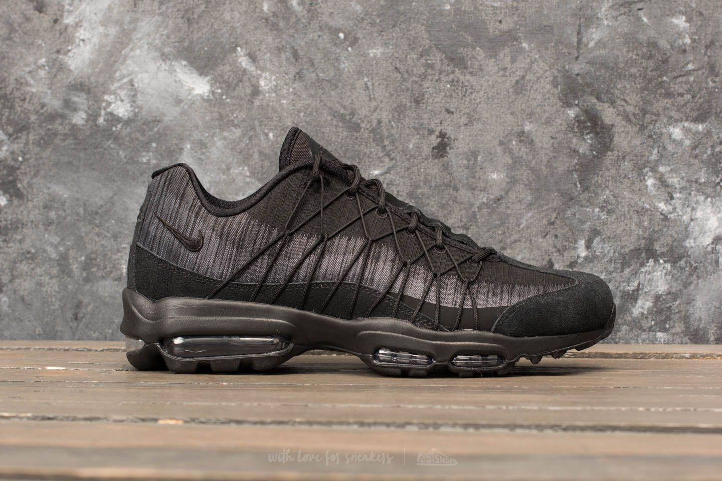 Lyst Ultra Nike Air Max 95 Ultra Lyst Jacquard Black Anthracite cool Grey in 66a721