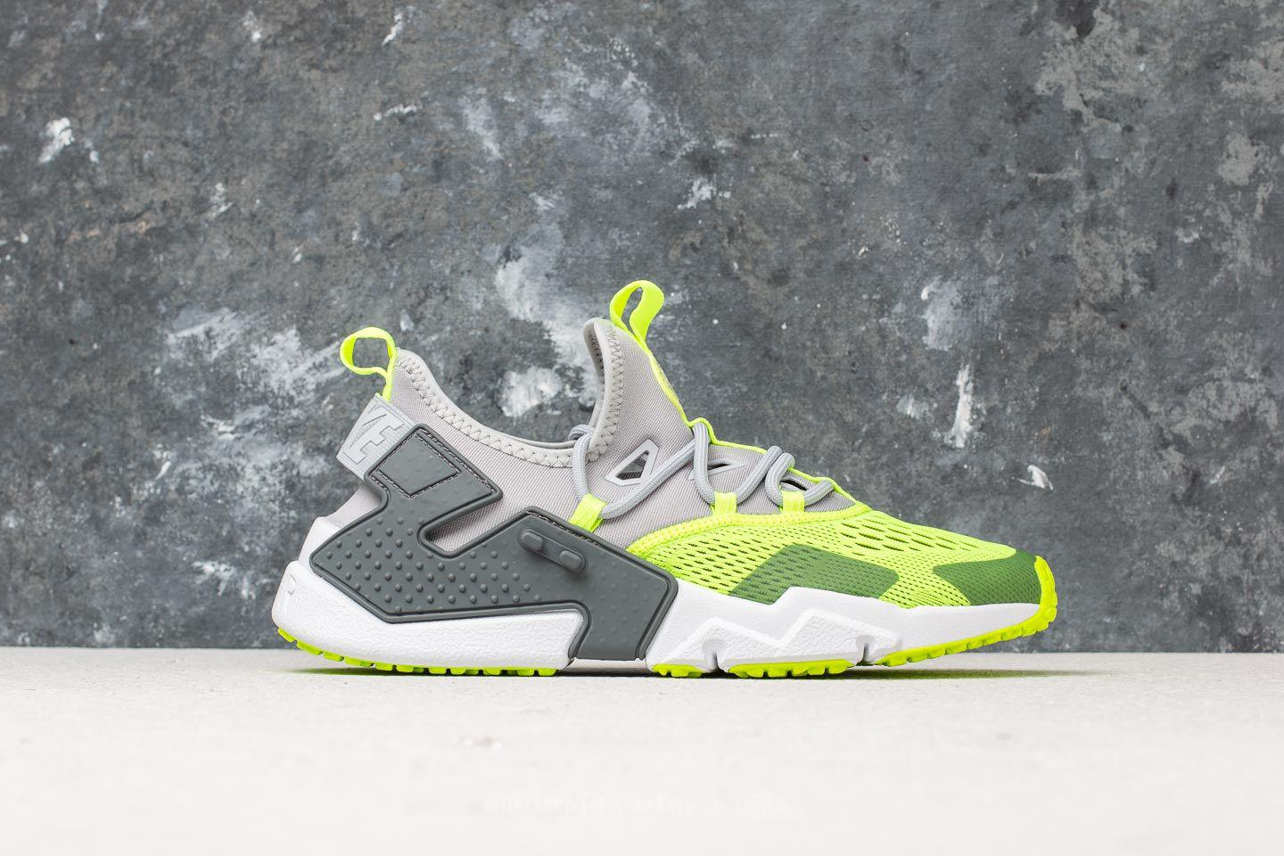 best loved fc483 7291b Nike Air Huarache Drift Breathe Wolf Grey  Volt-dark Grey-white in ...