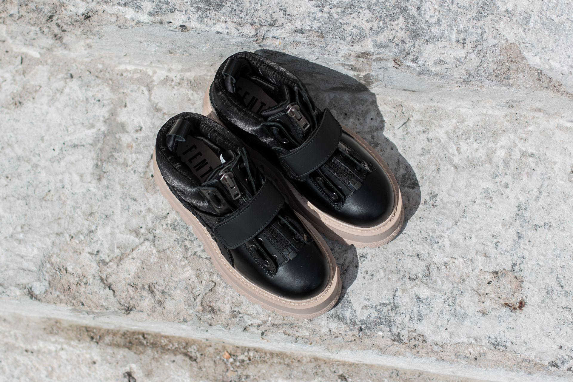 Fenty Sneaker Boot Strap Wns Black Black pink Tint