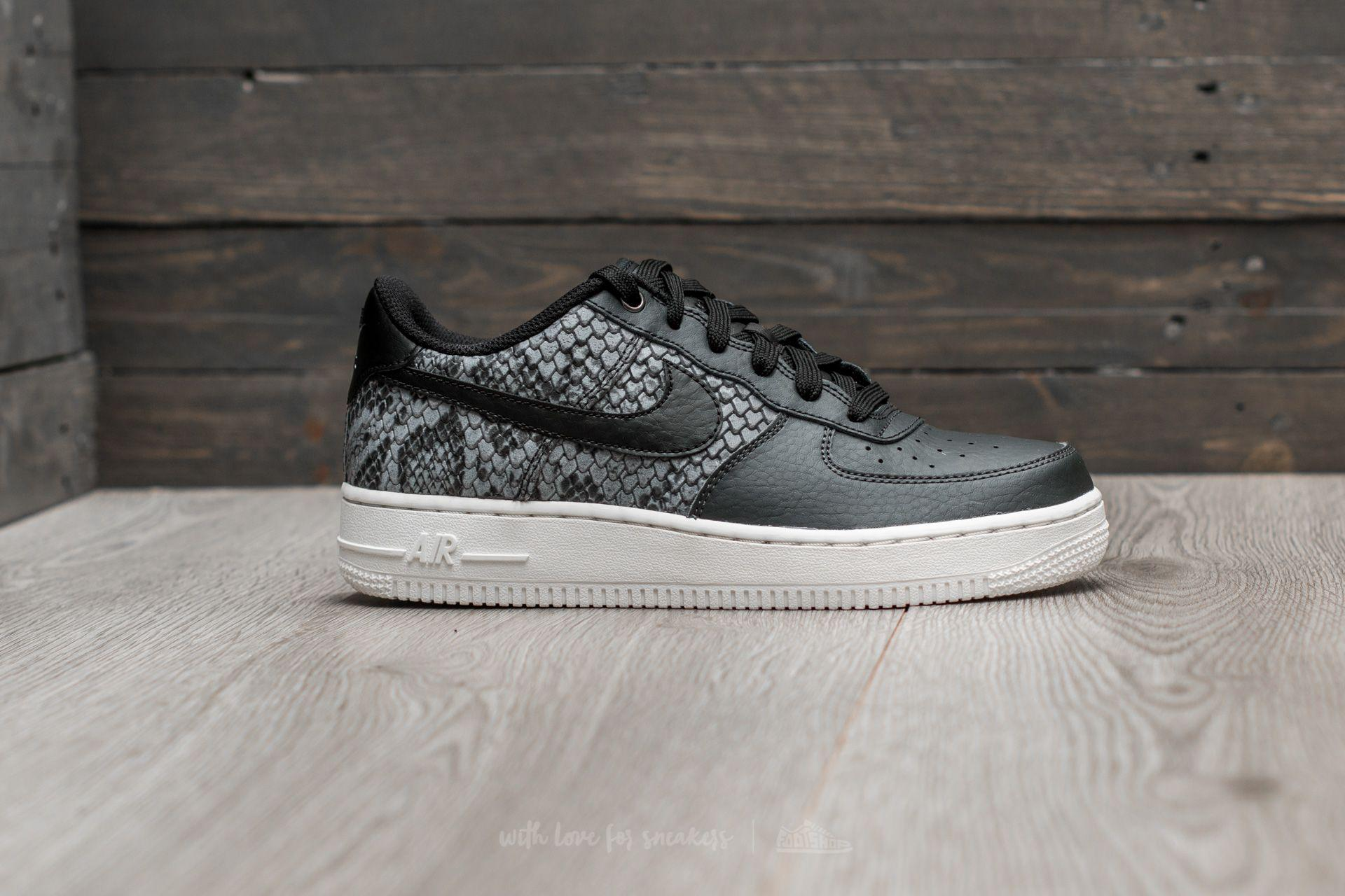 Air Force 1 Lv8 (gs) Anthracite Black summit White