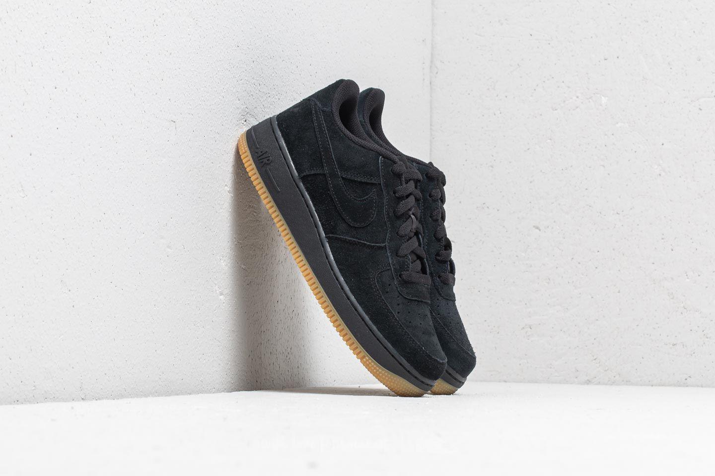 Lyst - Nike Air Force 1 Premium (gs) Black  Black-gum Light Brown in ... e863d7a44