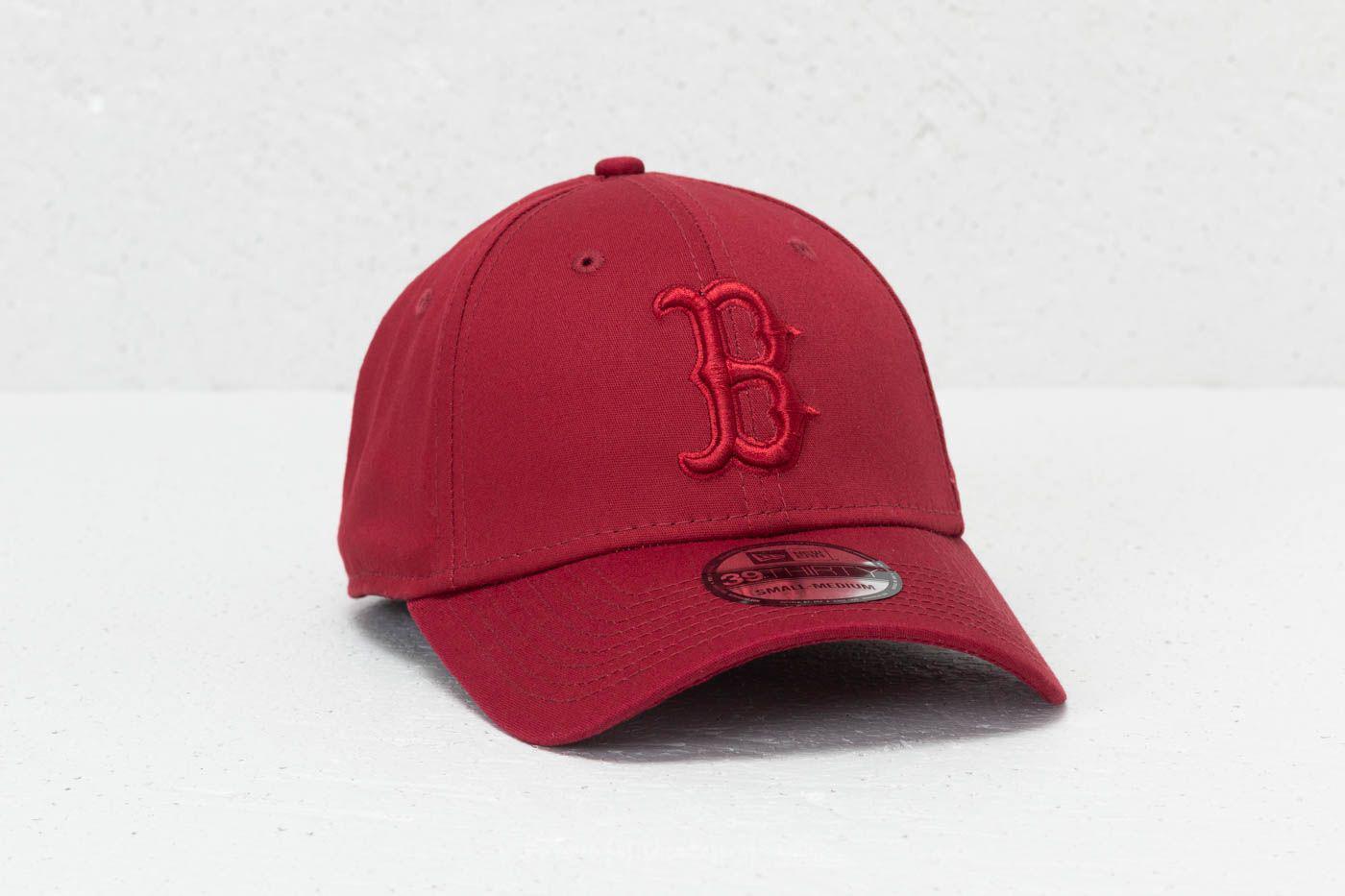 Lyst - Ktz 39thirty Mlb League Essential Boston Red Sox Cap Cardinal ... cd488aa04c19