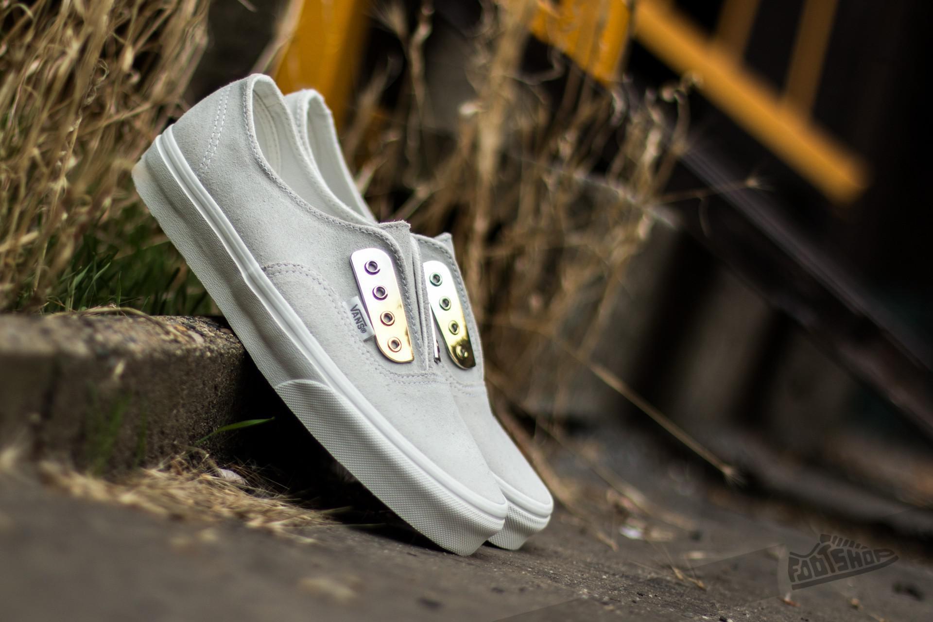 a4653ac83ab Lyst - Vans Authentic Gore (metal Eyeplate) Blanc De Blanc