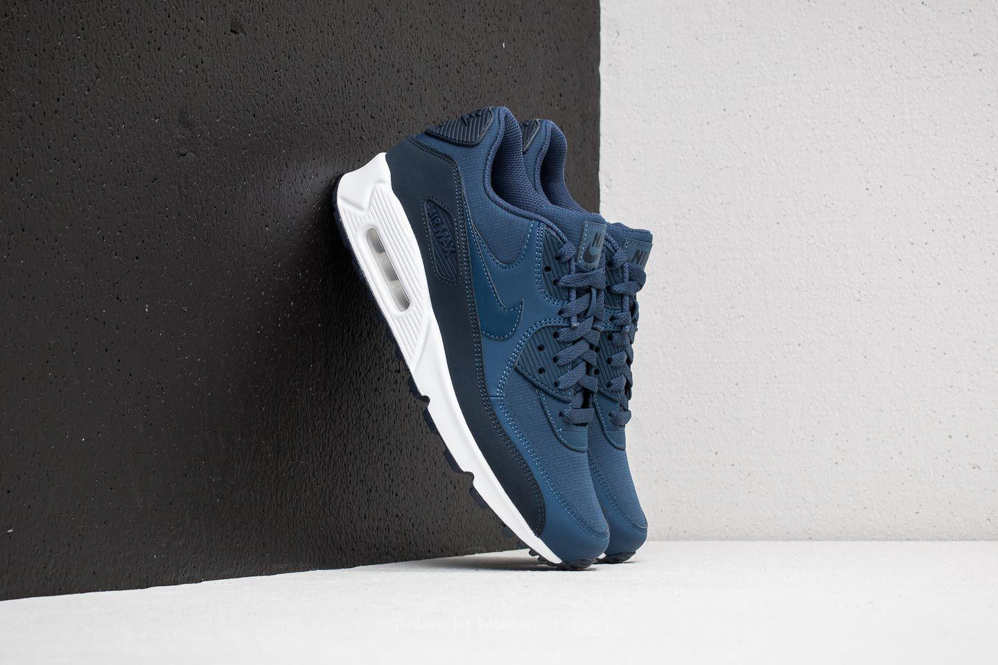 e12524a3714f Lyst - Nike Air Max 90 Essential Obsidian  Navy-white in Blue for Men