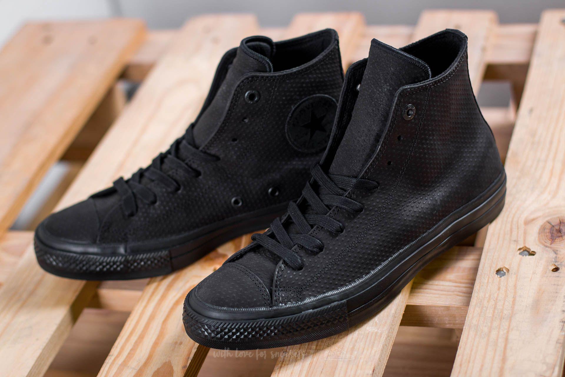 eea572b94ddd Lyst - Converse Chuck Taylor All Star Ii Hi Black  Black  Gum in ...
