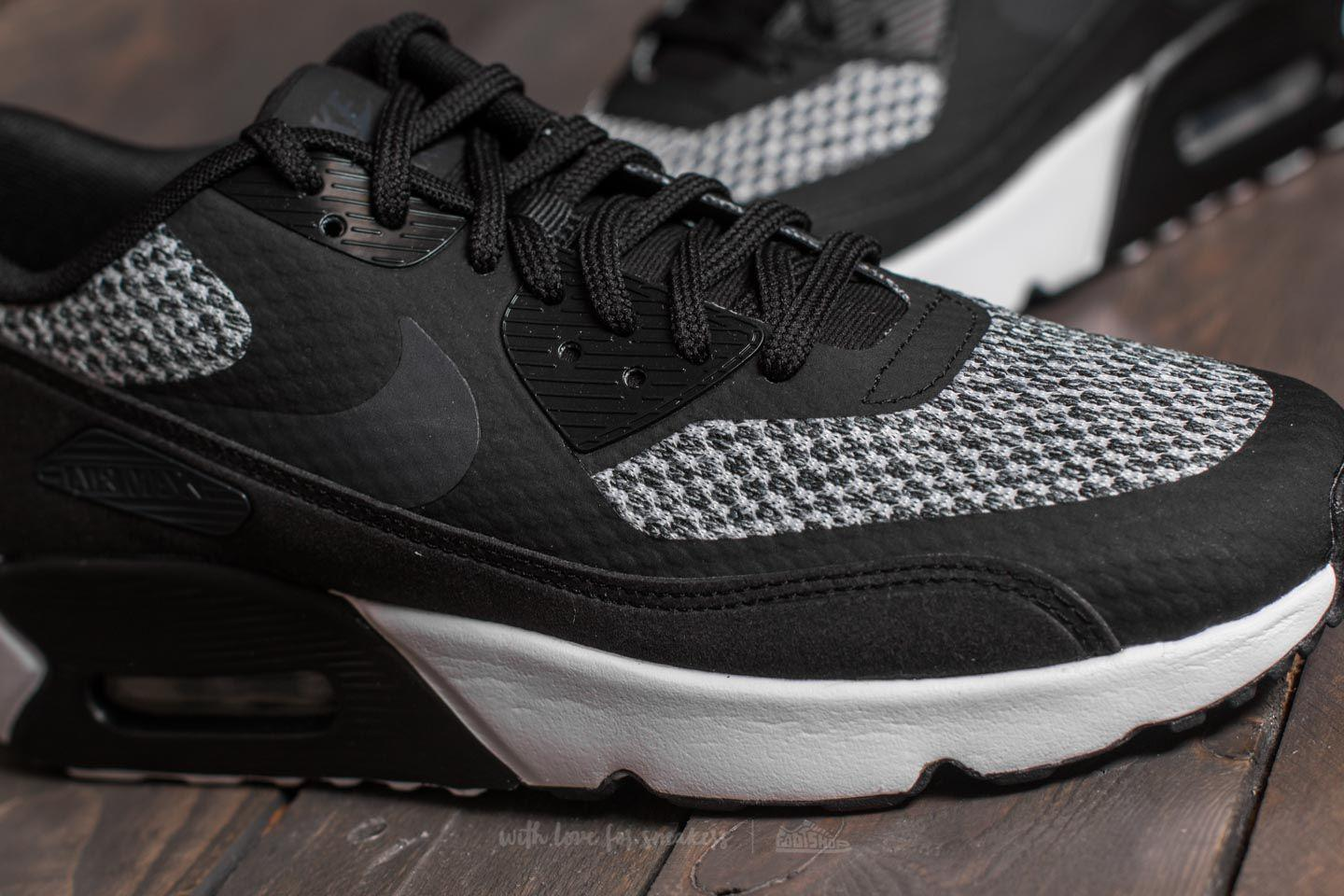 Nike Air Max 90 Ultra 2.0 SE (GS) Anthracite Black White