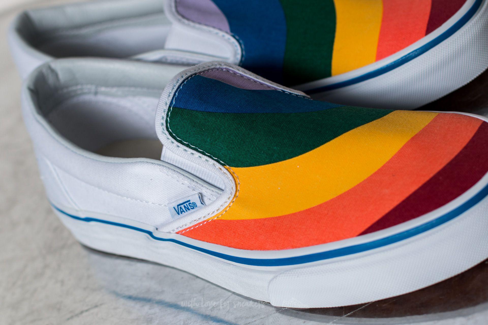 Vans Linen Classic Slip-on (rainbow