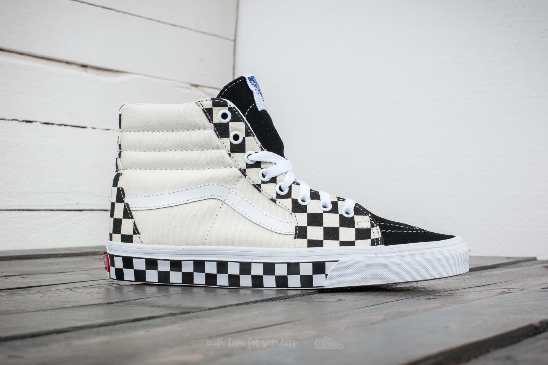 e95a0cf3420 Lyst - Vans Sk8-hi (checker Sidewall) Black  True White in White for Men