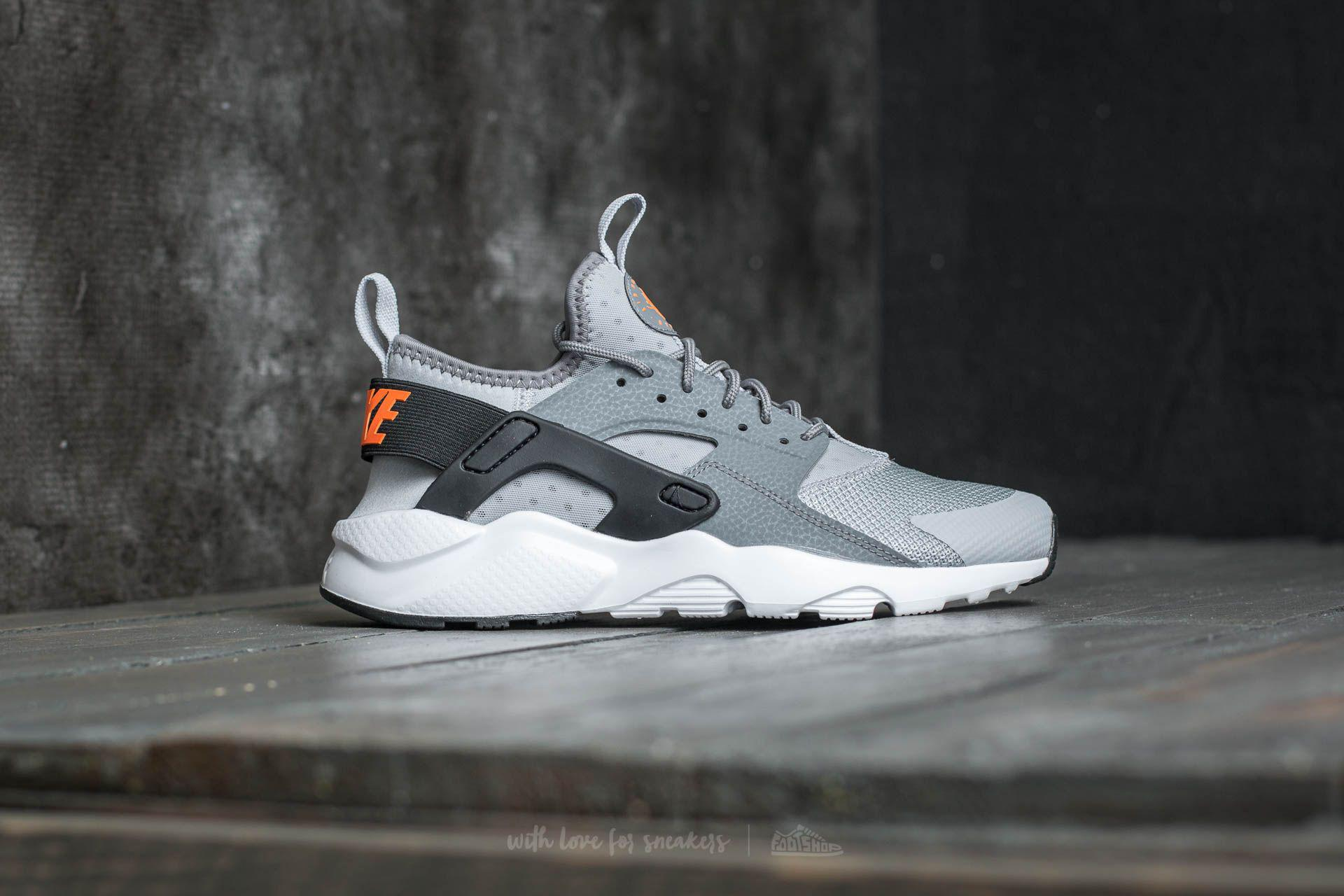 f825b74ee61db ... ireland lyst nike air huarache run ultra gs wolf grey tart cool grey  2fe26 b4c7c