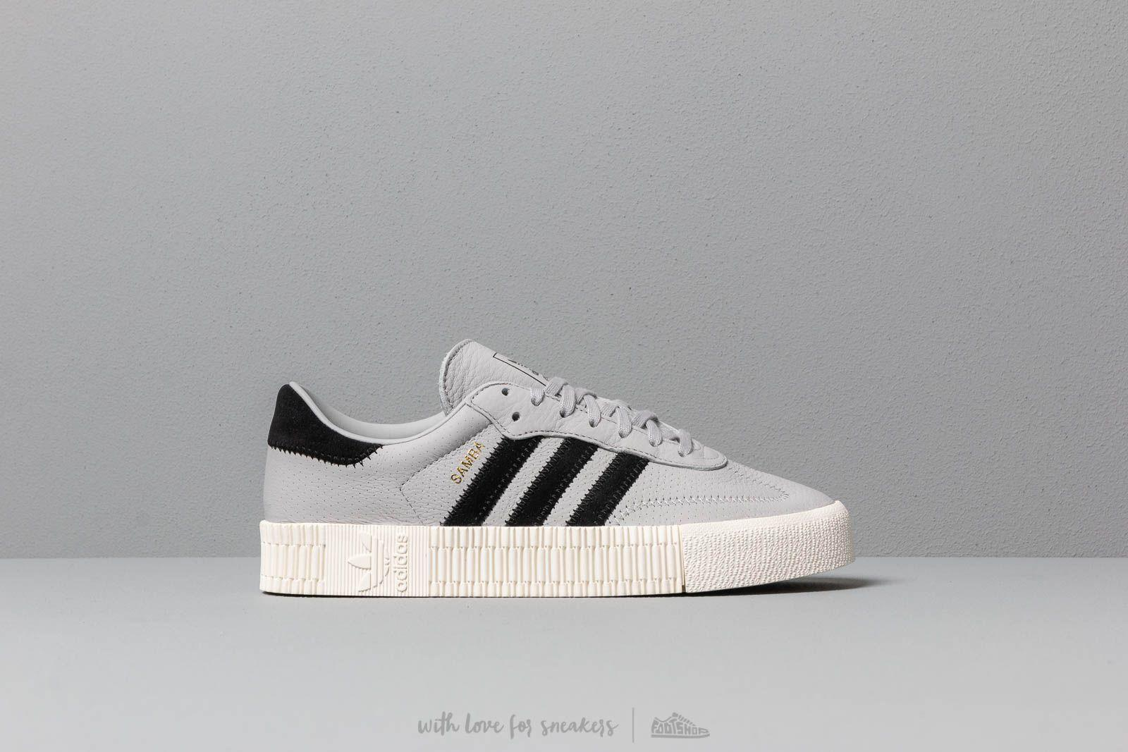 c8802f9f9f5 Adidas Originals - Gray Adidas Sambarose W Grey Two  Core Black  Off White  -. View fullscreen