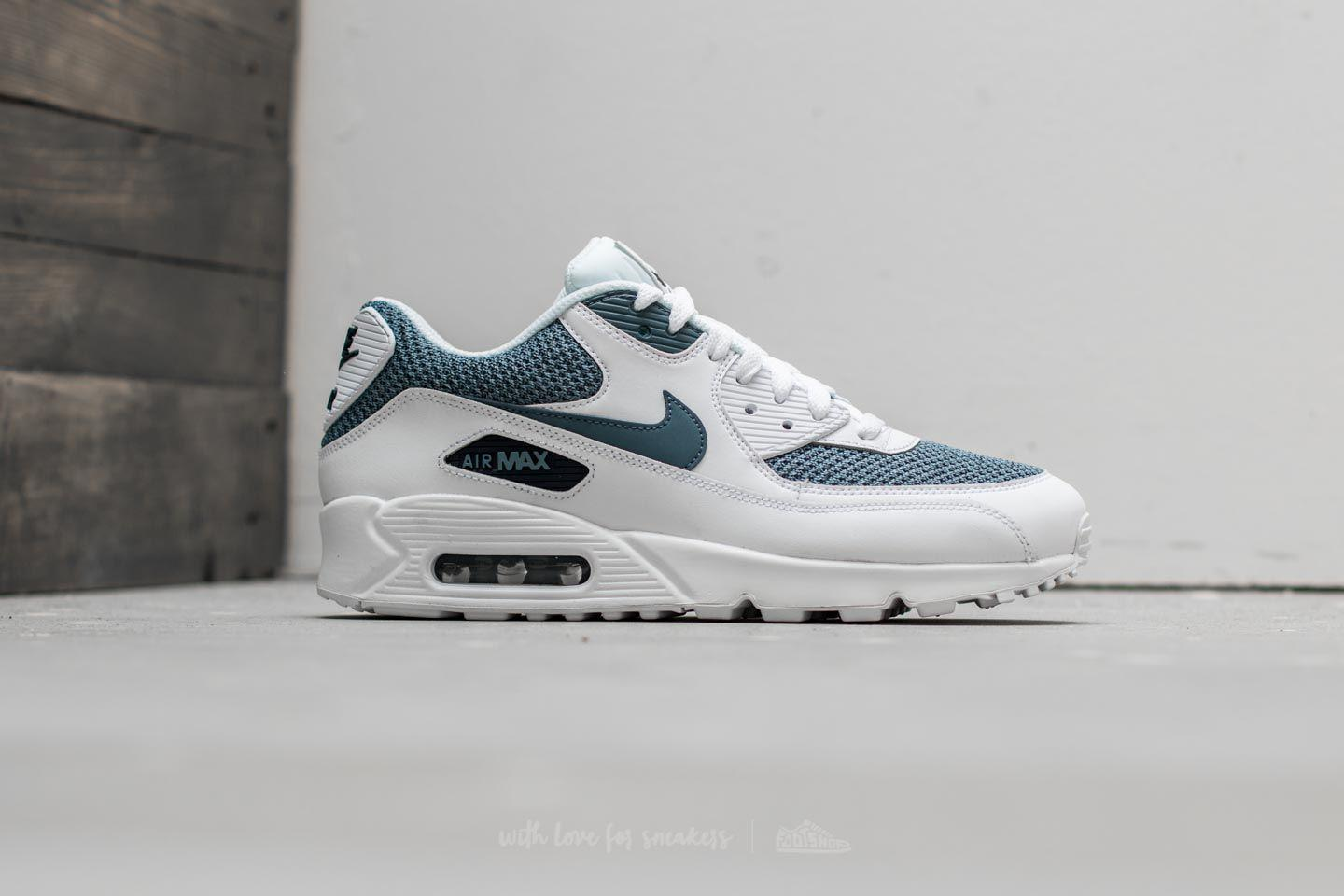 0b1c6038fe 385 075f0 29bb1  best lyst nike air max 90 essential white armory blue  armory blue in d863d 7d408