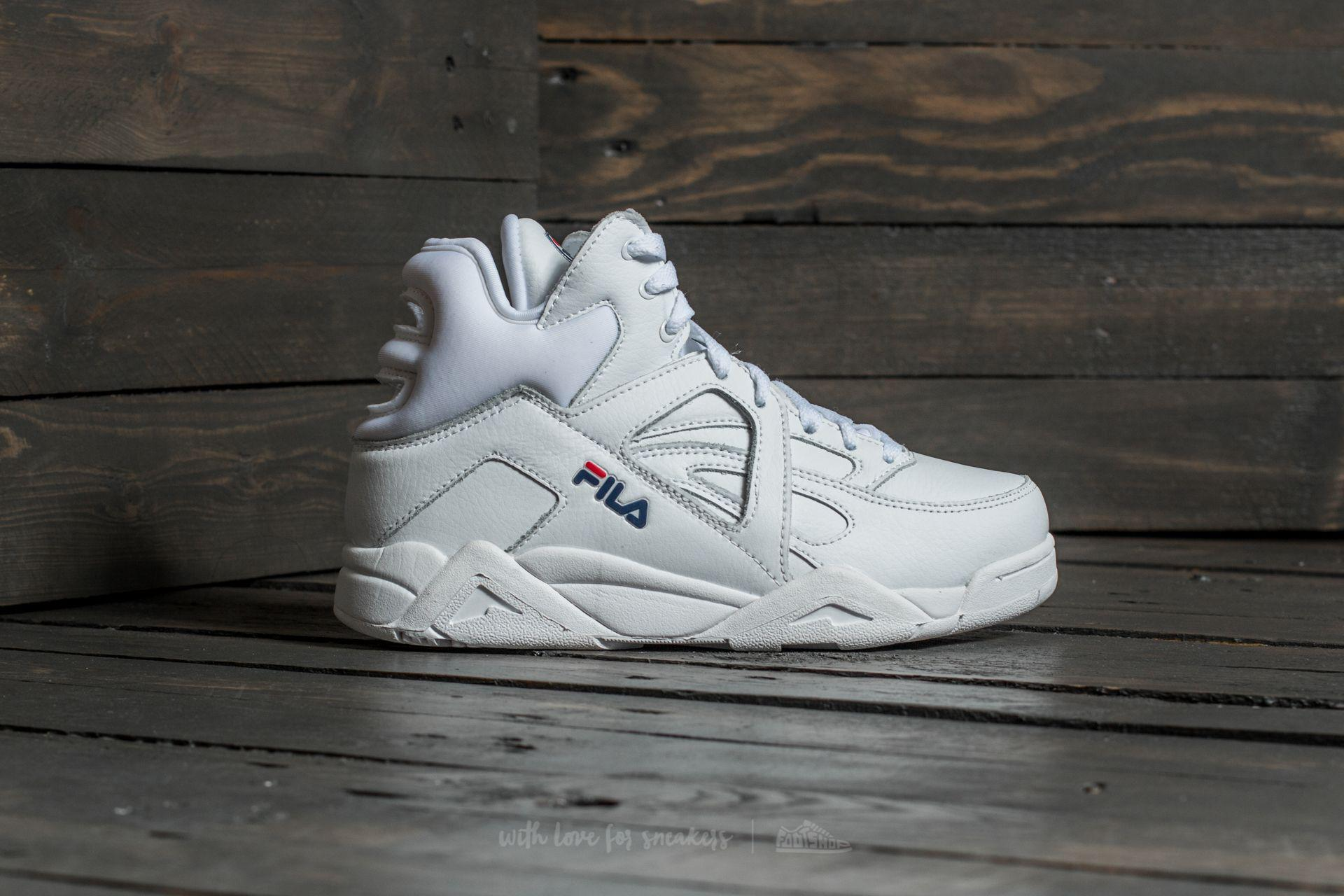 Fila Leather Cage L Mid White for Men