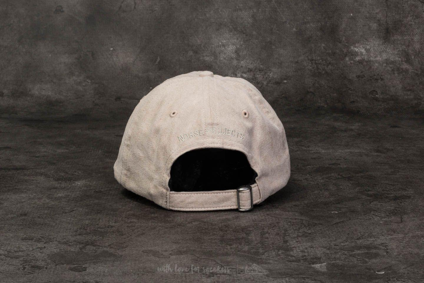 960c0ad58ab Lyst - Footshop Norse Projects Fake Suede Sports Cap Sand for Men