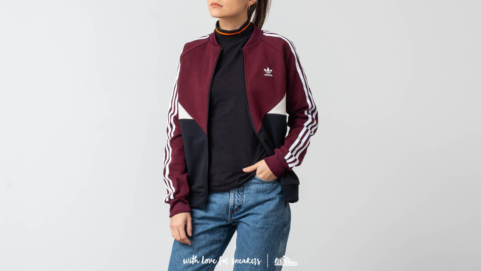 Lyst - adidas Originals Adidas Colorado Sst Track Jacket Maroon 9f15ab750