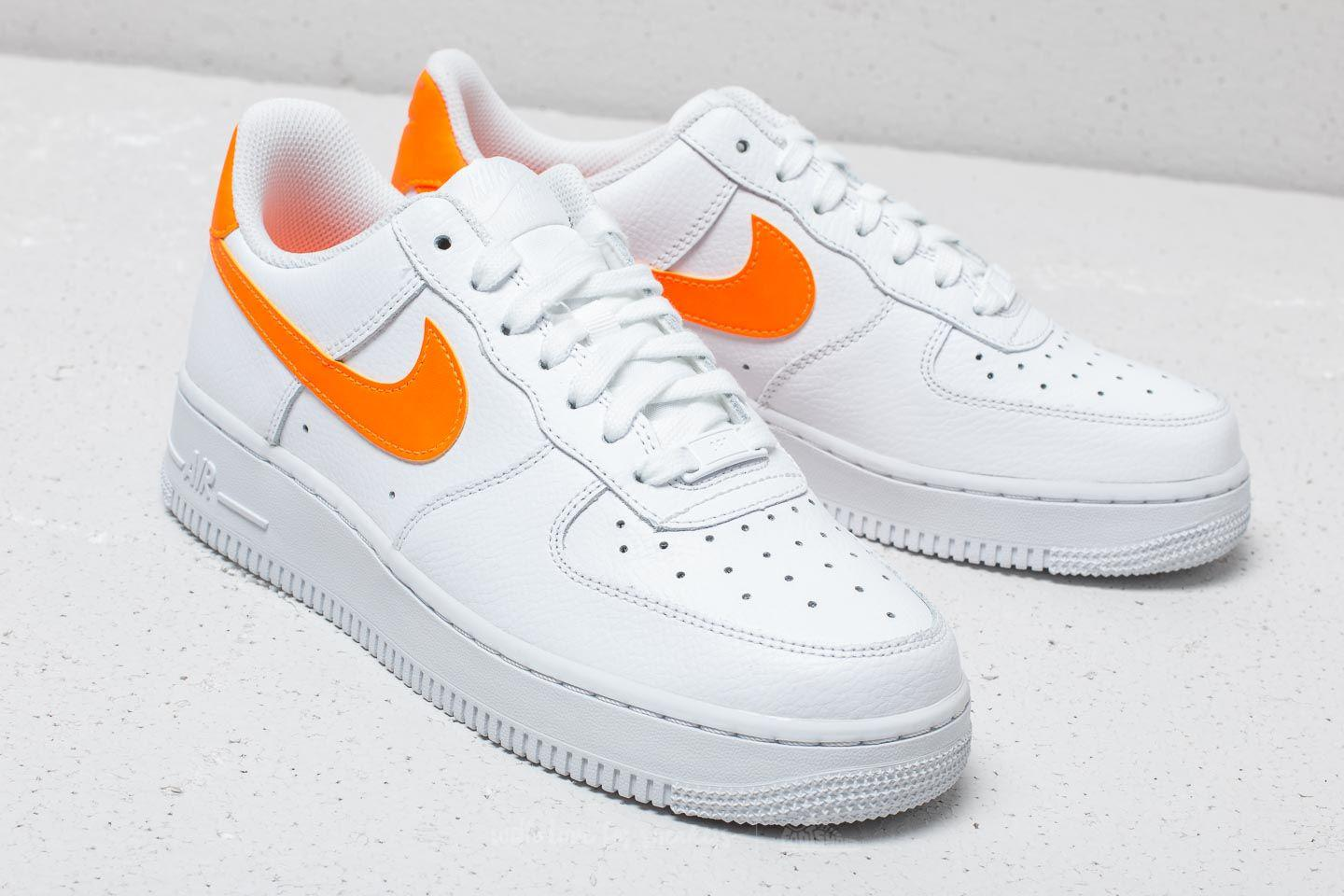 Nike Leather Wmns Air Force 1 07 White