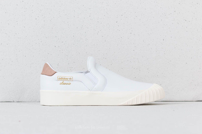 buy popular 23177 e9534 Lyst - Adidas Originals Adidas Everyn Slip-on Ftw White Ftw