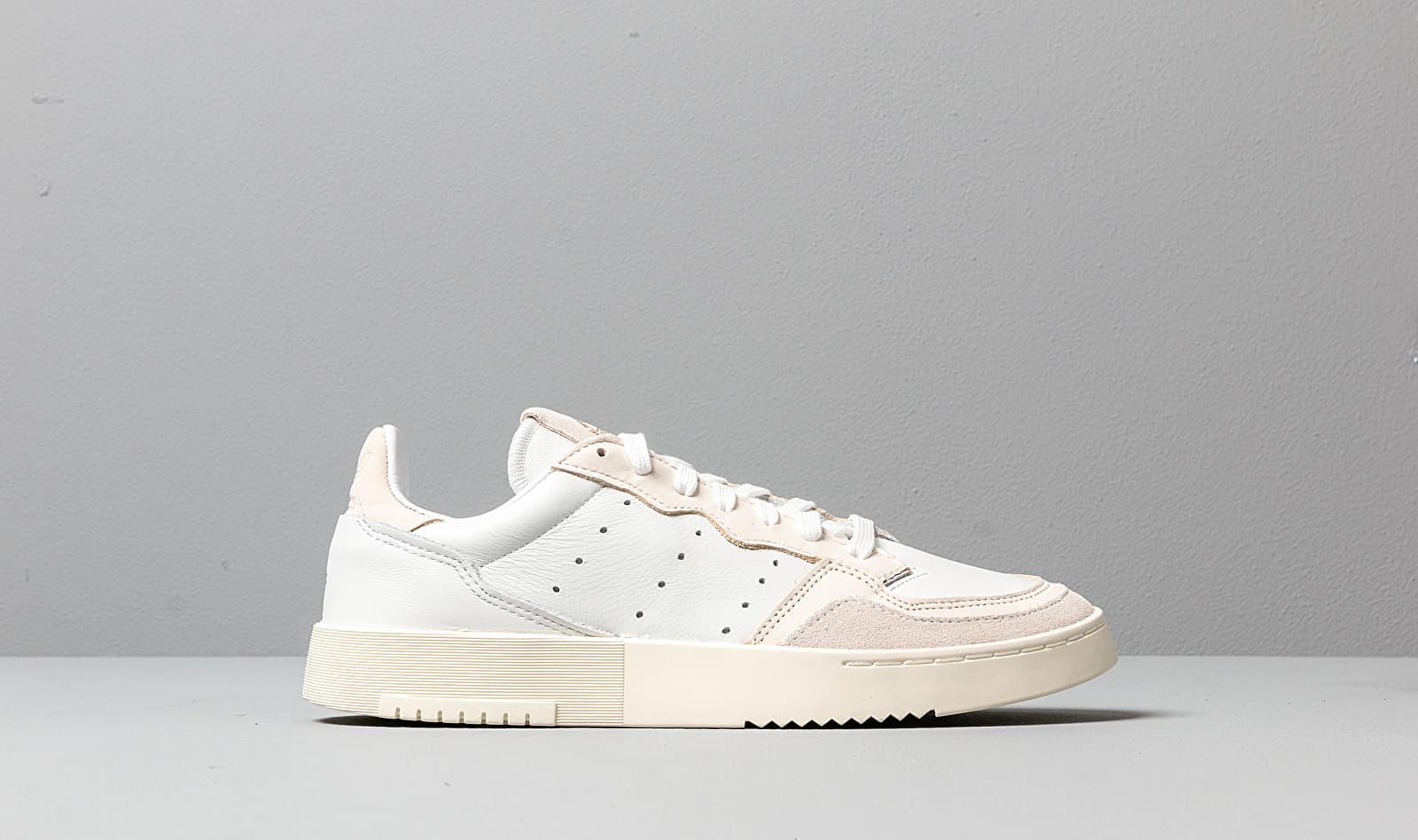 Men's Adidas Supercourt Crystal White Core White Off White