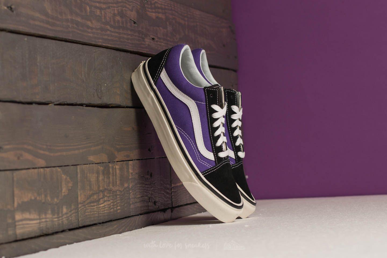 0fb3f441ca2 Vans Old Skool 36 Dx (anaheim Factory) Black/ Bright Purple for men