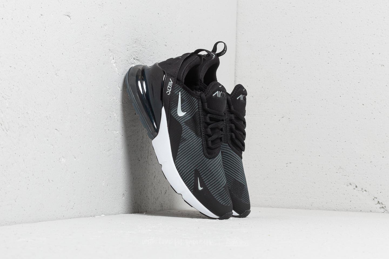 bb6b82c4bf Nike Air Max 270 Jacquard (gs) Black/ Wolf Grey-dark Grey in Gray - Lyst